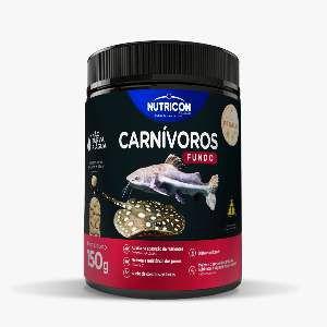 Racao carnivoros de fundo 150g - Nutricon