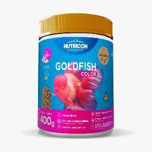 Racao goldfish color 400g - Nutricon