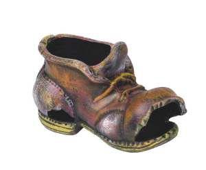 Enfeite bota hamster decorada - Trema - 17x8x9cm
