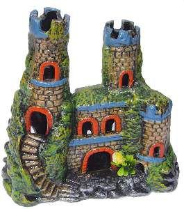 Enfeite castelo decorado grande - Trema - 23x10x24cm