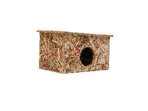 Casa ecologica para hamster - Club Pet Recriar - 10x9x13cm