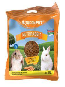 Racao nutrirabbit 500g - Nutricon