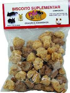 Biscoito Suplementar para Roedores - Rói Rói - 100 g - 5x15x20cm