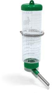 Bebedouro plastico drinker para hamster 250ml - Chalesco - 22x5,5cm