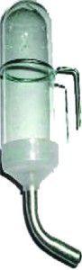 Bebedouro Pequeno para Hamster com Suporte Bico de Alumínio - Ornamental