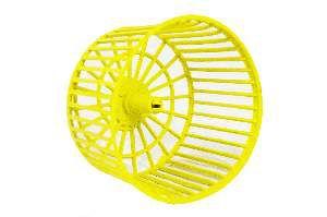 Roda plastica para exercicio para hamster - Alvorada - 12,5x9cm