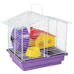 Gaiola para Hamster 1 Andar - Jel Plast - (31 cm x 30 cm x 23 cm)