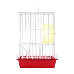 Gaiola arame hamster top vermelha - Monaco - 18x26x40cm