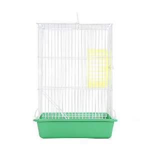 Gaiola arame hamster top verde - Monaco - 18x26x40cm