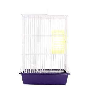 Gaiola arame hamster top lilas - Monaco - 18x26x40cm