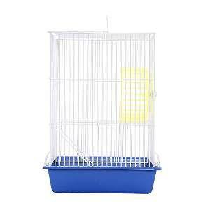Gaiola arame hamster top azul - Monaco - 18x26x40cm