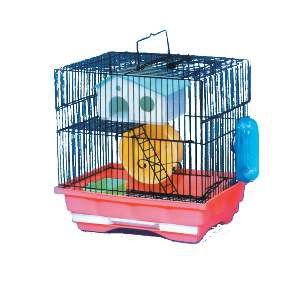Gaiola aco para hamster media - Chalesco - 30x23x31cm