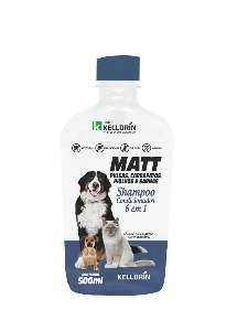 Shampoo Matt antipulgas 6x1 500ml - Kelldrin