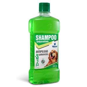 Shampoo Antiparasitário e Antipulgas para Cães - World Veterinária - 500 ml