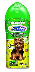 Shampoo 4 em 1 para Cães Citronela - Pet Licenciados - 500 ml