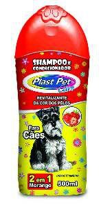 Shampoo e Condicionador para Cães Morango - Pet Licenciados - 500 ml