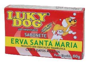 Sabonete Erva Santa Maria - Lucky Dog - 80 g