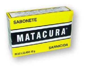 Sabonete Sarnicida - Matacura - 80 g