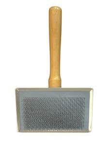 Rasqueadeira Profissional com Cerdas de Aço Nº 3 - Chalesco - 13,5x11cm
