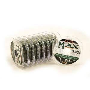 Linha Monofilamento Max Force - Daiyama - 0,33 mm - 11 kg - 100 m - c/ 10 un