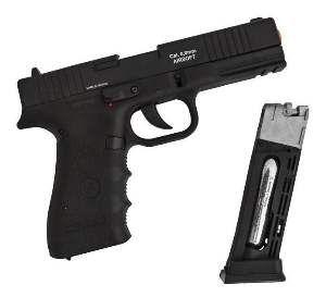 Revolver pressao W119 CO2 4.5mm - Rossi - 200mm