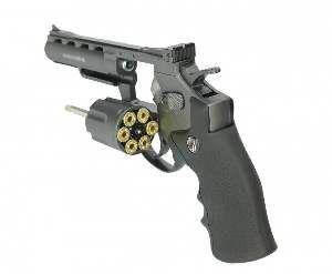 Revolver pressao M701 CO2 4.5mm - Rossi - 250x86,5mm