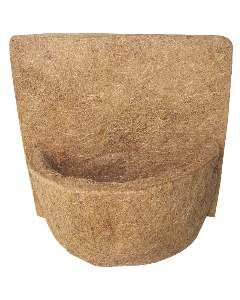 Vaso fibra de coco parede 120 - Mato Verde - 20cm