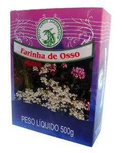 Fertilizante farinha de osso 500g - Mato Verde