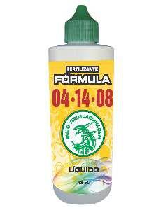 Fertilizante liquido formula 04-14-08 100ml - Mato Verde