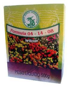 Fertilizante granulado 04-14-08 500g - Mato Verde