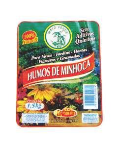 Adubo humus de minhoca 1,5kg - Mato Verde