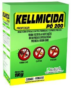 Inseticida Kellmicida Pó 200 - Kelldrin - 1 kg