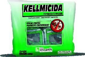 Formicida Kellmicida embalagem economica 50g - com 10 unidades