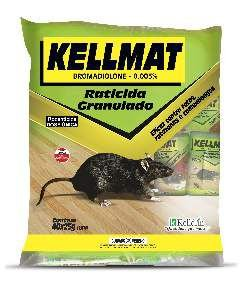 Raticida Kellmat granulado economico 25g - Kelldrin - com 40 unidades