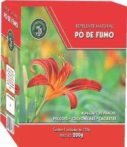 REPELENTE NATURAL PO DE FUMO 200G P*0