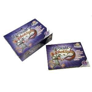 Ratoeira fita adesiva cola rato premium - Savana - 20x27cm