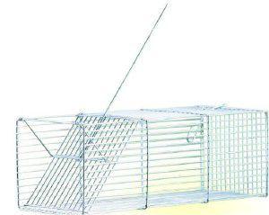 Ratoeira arame zincada mini - Londrigaiolas - 30x10x11cm