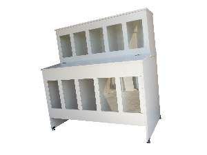 Pet box madeira 10 lugares 10/25kg - Ciner - 108x60x115cm