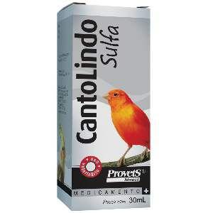 Canto Lindo Sulfa - ProvetS Simões - 30 ml