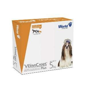 Vermífugo VermiCanis - World Veterinária - 400 mg