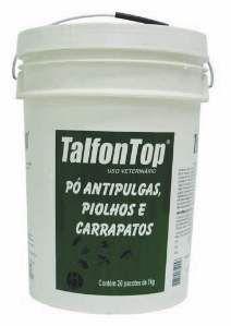 Antiparasitario po talfon top 1kg - Indubras - com 20 unidades - 27,5 x 27,5 x 38,5 cm