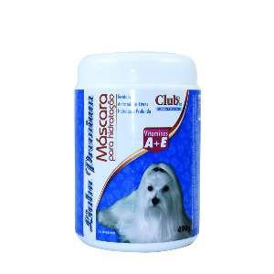 Mascara hidratacao vitaminas A+E 490g - Club Pet Dog Clean