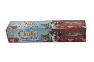 Creme dental morango 90g - Club Pet Cat Dog