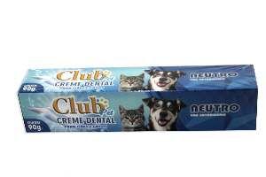 Creme dental neutro 90g - Club Pet Cat Dog