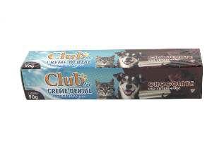 Creme dental chocolate 90g - Club Pet Cat Dog