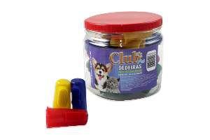 Dedeira PVC - Club Pet Cat Dog - com 30 unidades - 4,5x2,5cm