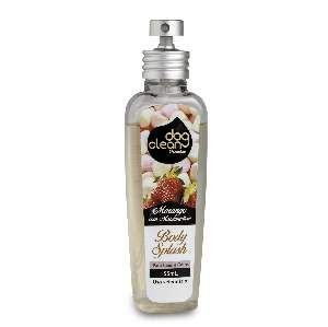 Locao body splash morango com marshmallow premium 55ml - Dog Clean