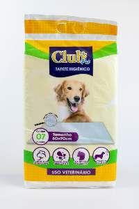 Tapete higienico 60x90cm - Club Pet Import - com 7 unidades