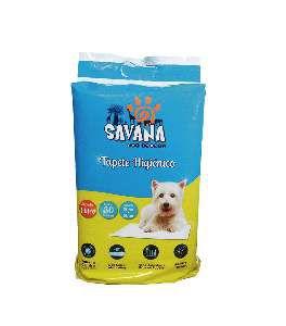 Tapete higienico - Savana - com 30 unidades - 60x60cm
