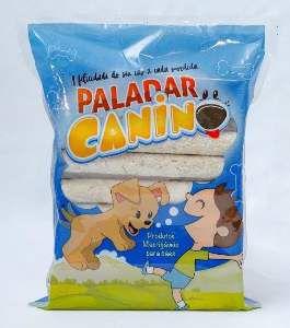 Osso palito natural 1kg - Paladar Canino - 15mm